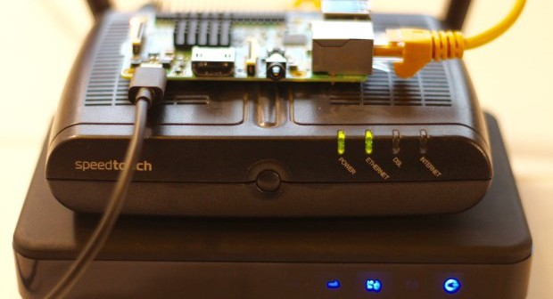 Raspberry Pi monitors broadband speeds