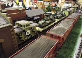 VTC Train Show in the makerspace